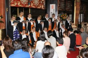 宗教科生によります御詠歌「楊柳」の奉詠