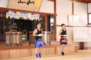 タイの学生さんが民族舞踊やムエタイをご披露!